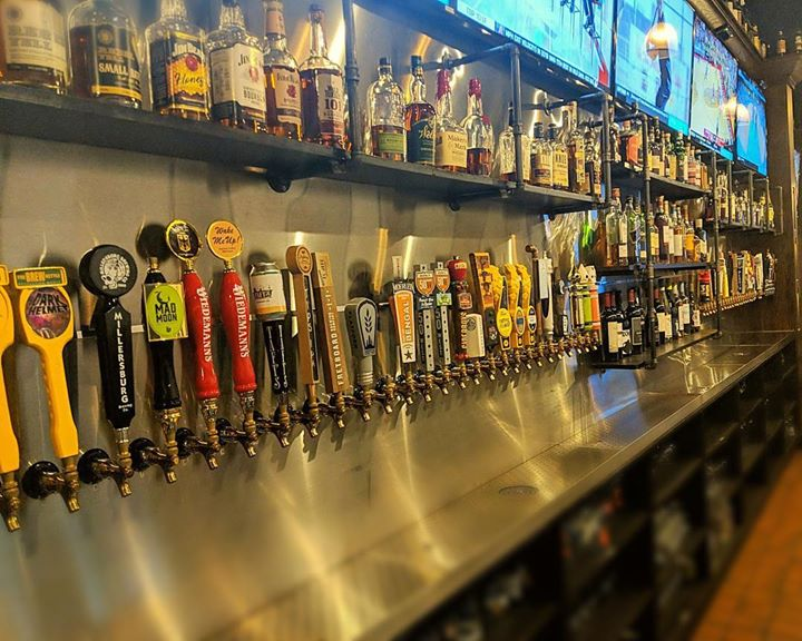 60 beers on tap. Whiskey from all around the world. And the best Grilled…