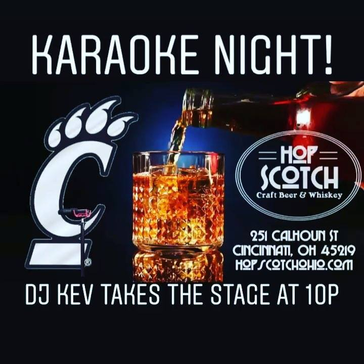 Cincinnati's best Happy Hour from 3-7pm. Karaoke night kicks off at 10pm with @djkev528!…