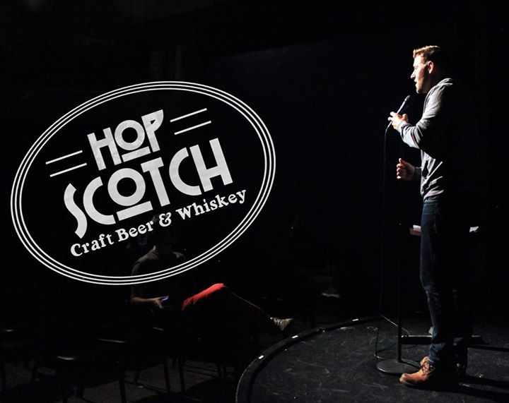 Open Mic Comedy Night @hopscotchohio Join for our HALF OFF EVERYTHING HAPPY HOUR from…