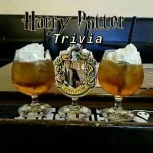 $5 Butter Beer and Harry Potter Trivia! Come see us tonight!!! $100 in prizes…
