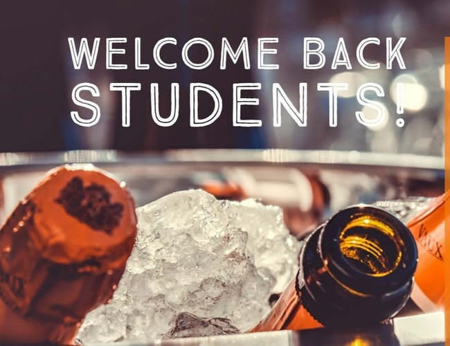 Welcome Back Staff and Students! We have missed you! Visit us tonight for 25%…